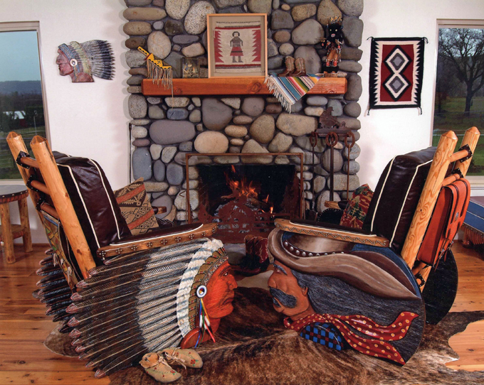 Tom mccoy a true renaissance man the local rag for Native american furniture designs